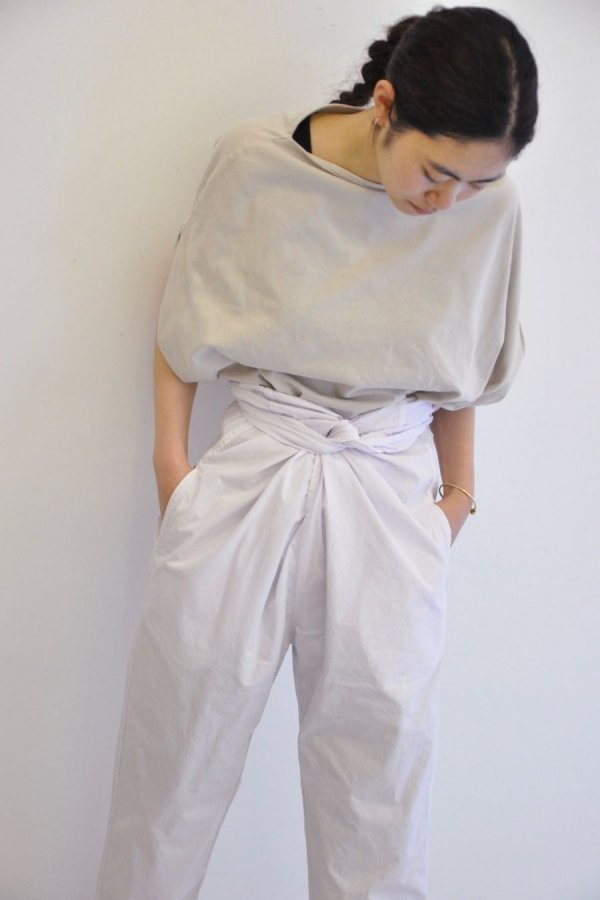 COSMIC WONDER / BEAUTIFUL ORGANIC COTTON WRAPPED PANTS / LIGHT VIOLET