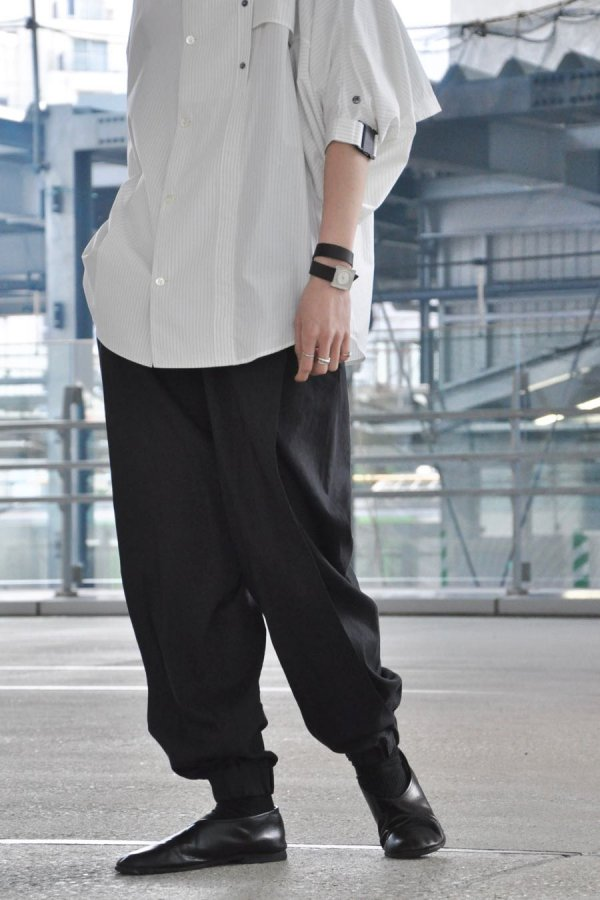 Chalayan / PANELLED TROUSER / MIDNIGHT