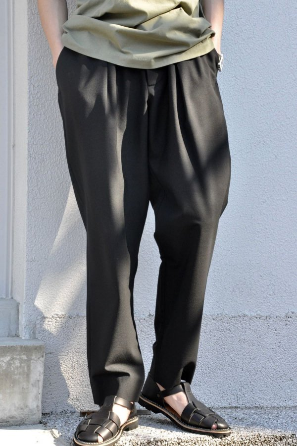 OFTT / Pleated Trousers / Black