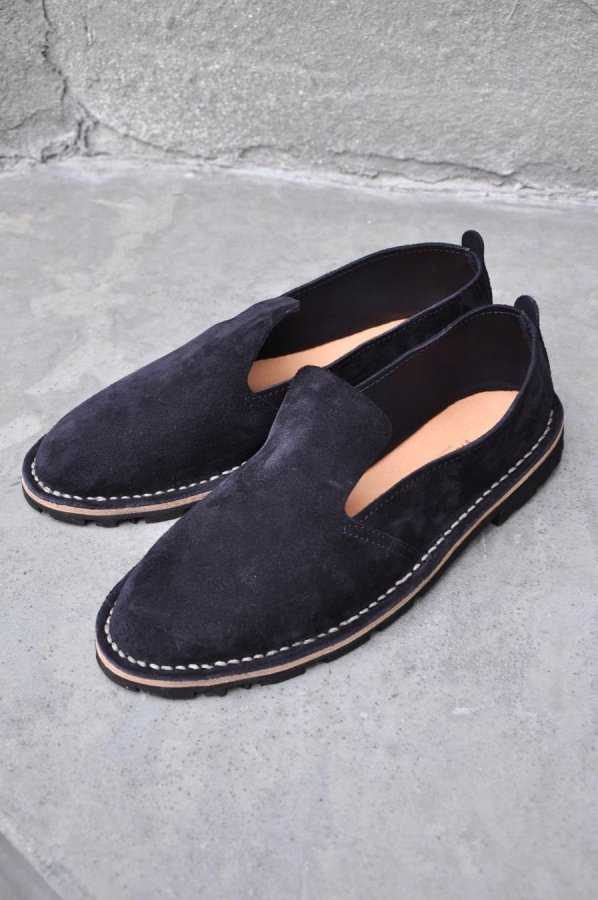 Steve Mono / ARTISANAL SHOES (10/08) / NAVY