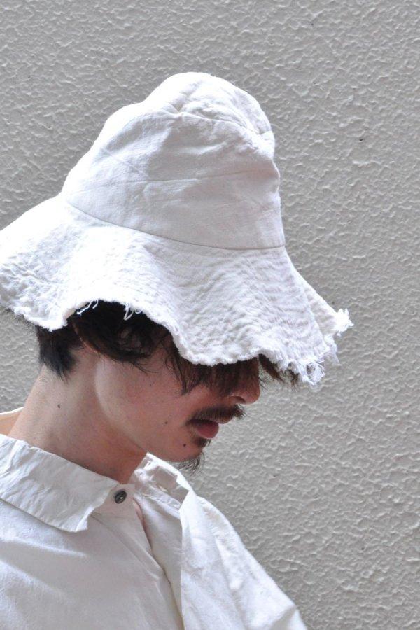 MONAD LONDON / SOL BUCKET HAT / IVORY