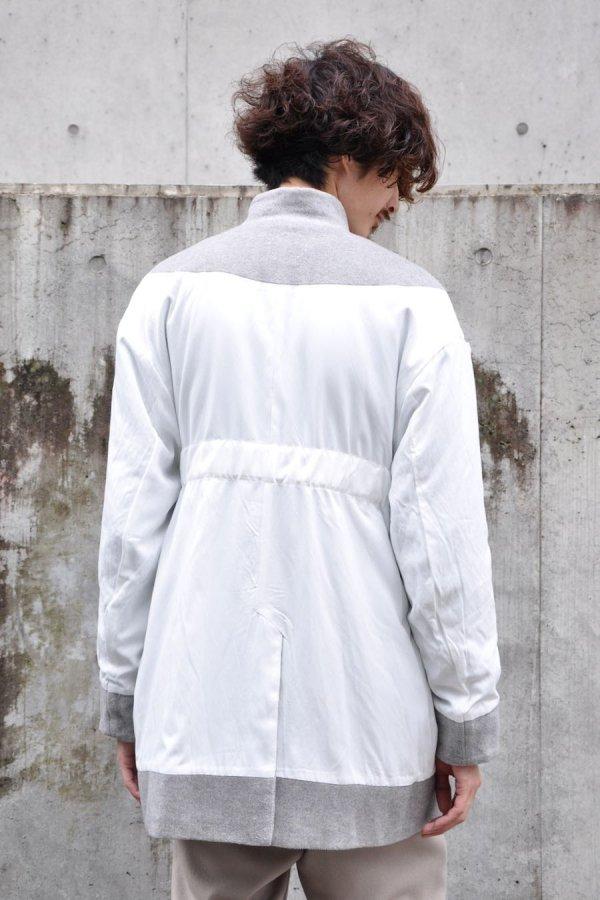 COSMIC WONDER / Reversible Linen Wool jacket / Gray