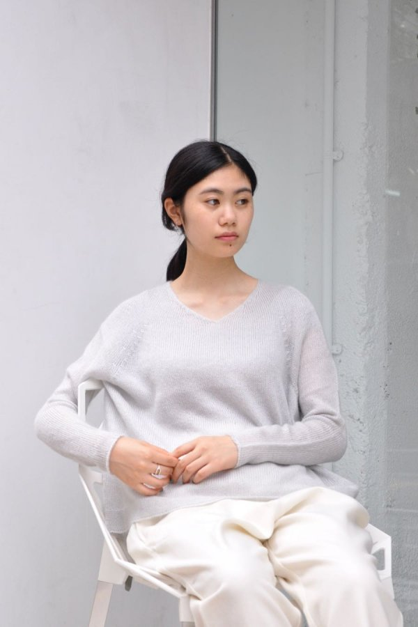 COSMIC WONDER / BEAUTIFUL MOHAIR SILK KNIT SWEATER