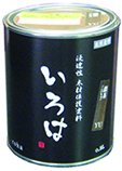 いろはカラー(屋内・屋外兼用)【0.8L】YU 濃茶(こいちゃ)