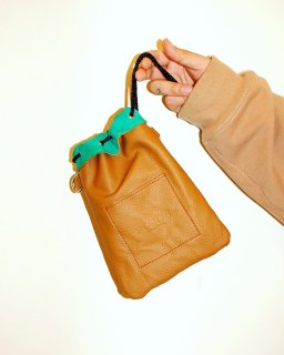『PONDS』reversible mini bag