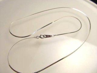 ◆高品質Silver925パーツ◆ペンダントトップの相方!◆S字平スエッジチェーン◆チェーン長さ45cm 幅約1.1mm 金具最大幅約3.2mm◆CHN062◆