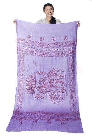 ガネーシャラムナミスカーフ 紫