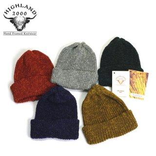 [メール便可]HIGHLAND 2000 ハイランド2000  アイリッシュ リネン ニットキャップ Irish Linen Knitcap