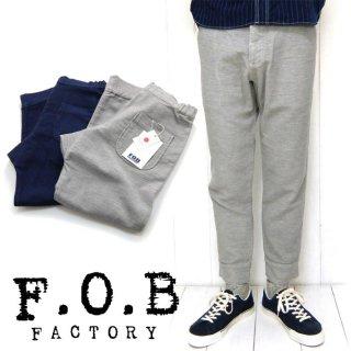 FOBファクトリー[F0404]リラックススウェットパンツ RELAX SWEAT PANTS
