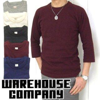 [メール便可]ウエアハウス WAREHOUSE [4049] 7分袖 フリーダムTシャツ 3/4 SLEEVE FREEDOM T-SHIRT