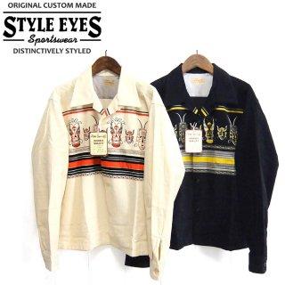 スタイルアイズ STYLE EYE'S SE28257 オープンカラー コーデュロイシャツ