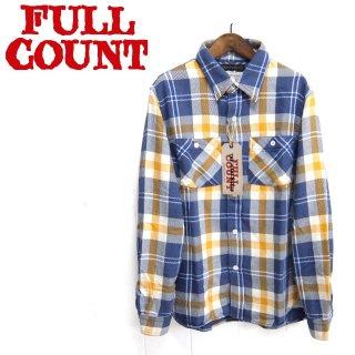 """フルカウント FULL COUNT 4021-1 チェック ネルシャツ ORIGINAL CHECK NEL SHIRTS""""SOUTHER"""""""