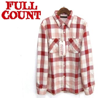 """フルカウント FULL COUNT 4021-2 チェック ネルシャツ ORIGINAL CHECK NEL SHIRTS """"BROWNE"""""""