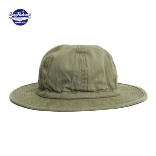 バズリクソンズ BuzzRickson's [BR02537] ヘリンボーン アーミーハット O.D. HERRINGBONE ARMY HAT