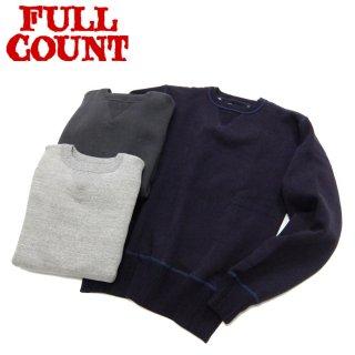 フルカウント FULL COUNT 3741 両V マザーコットン セットイン スウェット DOUBLE V SET IN SLEEVE MOTHER COTTON