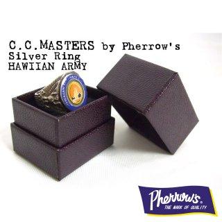 C.C.MASTERS(シーシーマスターズ)by Pherrow's(フェローズ) シルバーリング「HAWIIAN ARMY」
