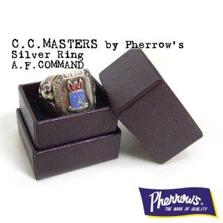 C.C.MASTERS(シーシーマスターズ)by Pherrow's(フェローズ) シルバーリング「A.F.COMMAND」