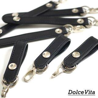 [メール便可]ドルチェビータ Dolce Vita/日本製/ループキーホルダー コードバン Loop key holder Cordovan[HLD1-CORD]