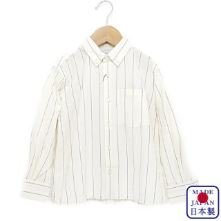 STRIPE WASHER B/D SHIRT(110〜145cm)