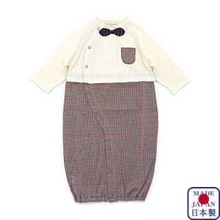 グレンチェック兼用ドレス(50-70cm)