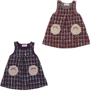ロービングチェック ジャンパースカート(80〜130cm)