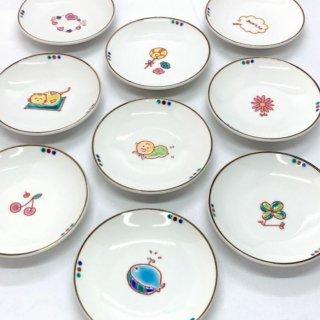 九谷焼 イラスト豆皿(20種類)