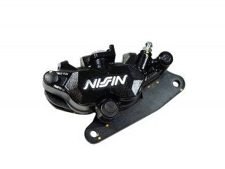 NISSIN製・ニッシン 2POTキャリパー 黒 GROM グロム MSX125 モンキー125/MONKEY125 NSR50 NS-1対応