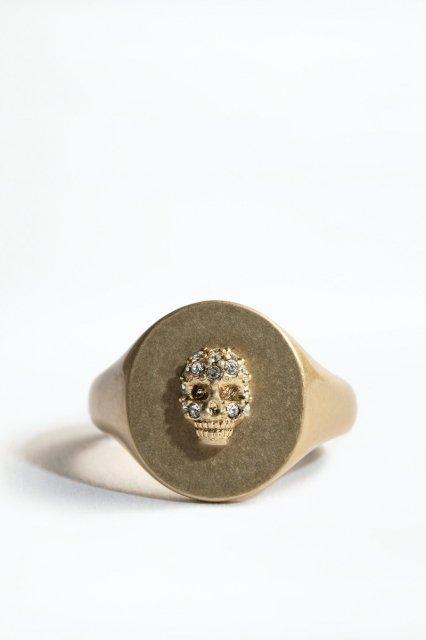 SKULL DECLARATION RING 指輪
