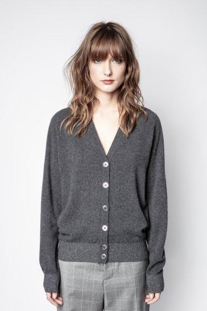 JIM C PATCH LUREX セーター