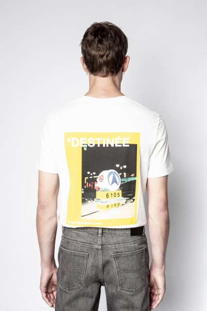 TED HC PHOTOPRINT DESTINEE TSHIRT MC Tシャツ