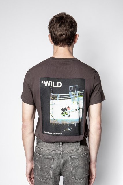 TED HC PHOTOPRINT WILD Tシャツ