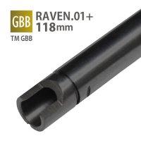 【メール便可】RAVEN 6.01+インナーバレル 118mm / 東京マルイ GLOCK34 ロング(RAVEN 01+ INNER BARREL 118mm / TM GLOCK34 Long)