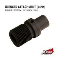 【メール便可】サイレンサーアタッチメント(14mm逆) / 東京マルイ MEU(Attachment(CCW) / TM MEU)