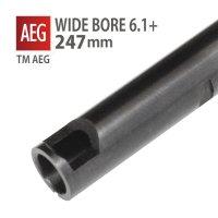 【メール便可】WIDE BORE 6.1+インナーバレル 247mm / 東京マルイ G36C,P90,CAR15