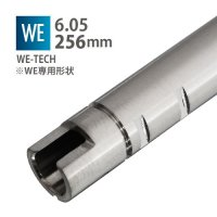 【メール便可】6.05インナーバレル 256mm / WE-TECH WE SCAR,AK74UN(05 INNER BARREL 256mm / WE-TECH WE SCAR,AK74UN)