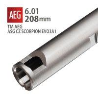 【メール便可】6.01インナーバレル 208mm / 東京マルイ G3-SAS