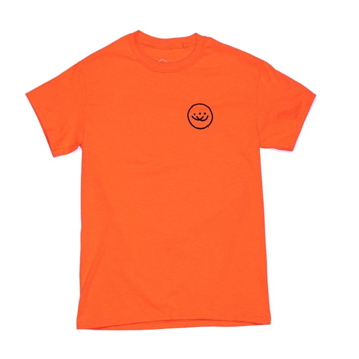 Doubles OG Smiley SS Tシャツ Orange