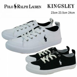 POLO RALPH LAUREN ポロラルフローレン スニーカー KINGSLEY- CANVAS bo18033