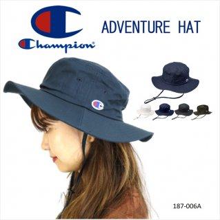 【Champion】 アドベンチャーハット 帽子 メンズ レディース キッズ 男女兼用 手洗い可 アウトドア ストリート プレゼント ギフト