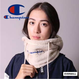 【チャンピオン】Champion フリース ネックフード ネックウォーマー フード付 防寒 防2hyc_491-0030