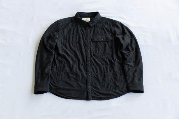 ユニセックス・フレキシブルインサレーション・シャツ Black