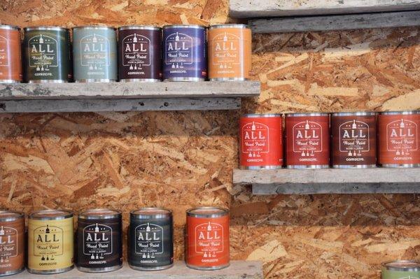 ALL Wood Paint  HARD カラー 2.5L