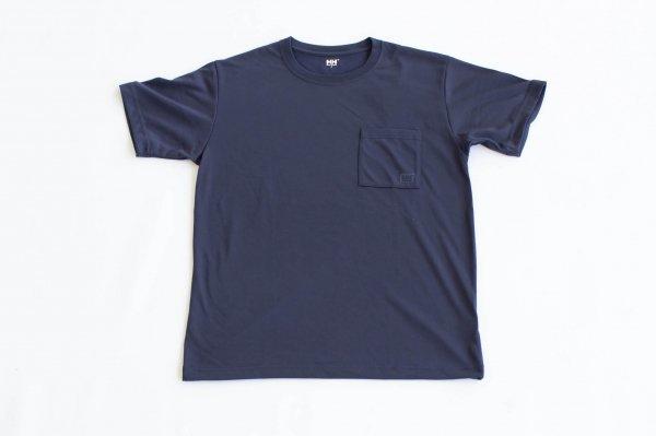 ユニセックス・ロゴポケット・Tシャツ Hb