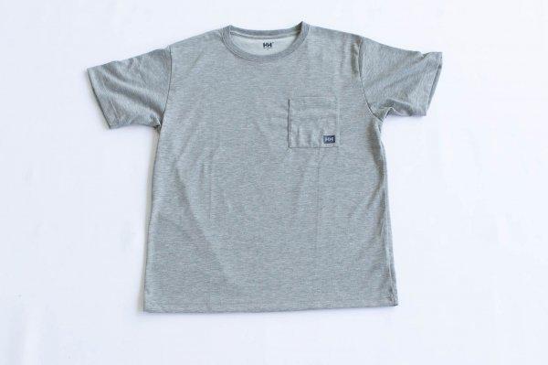 ユニセックス・ロゴポケット・Tシャツ Z