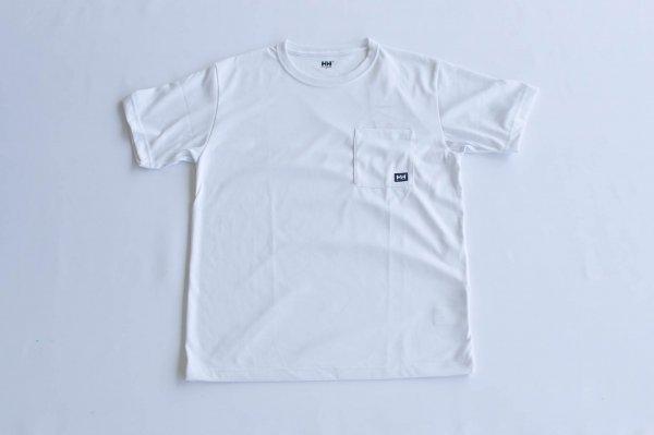 ユニセックス・ロゴポケット・Tシャツ W