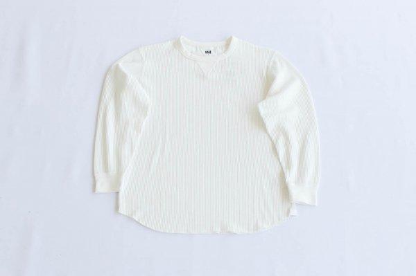 ユニセックス・ロングスリーブ・ドライワッフル・Tシャツ Ow