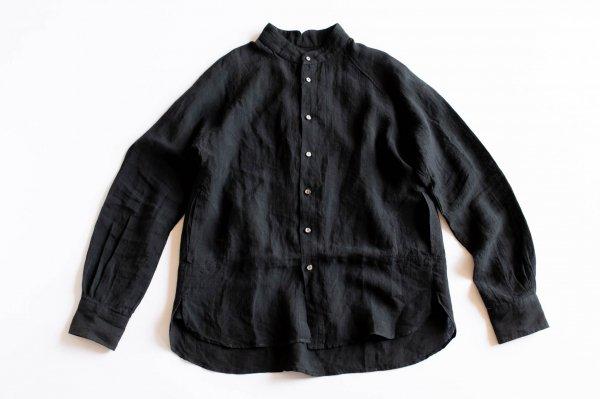 ゴデシャツ Linen/Black