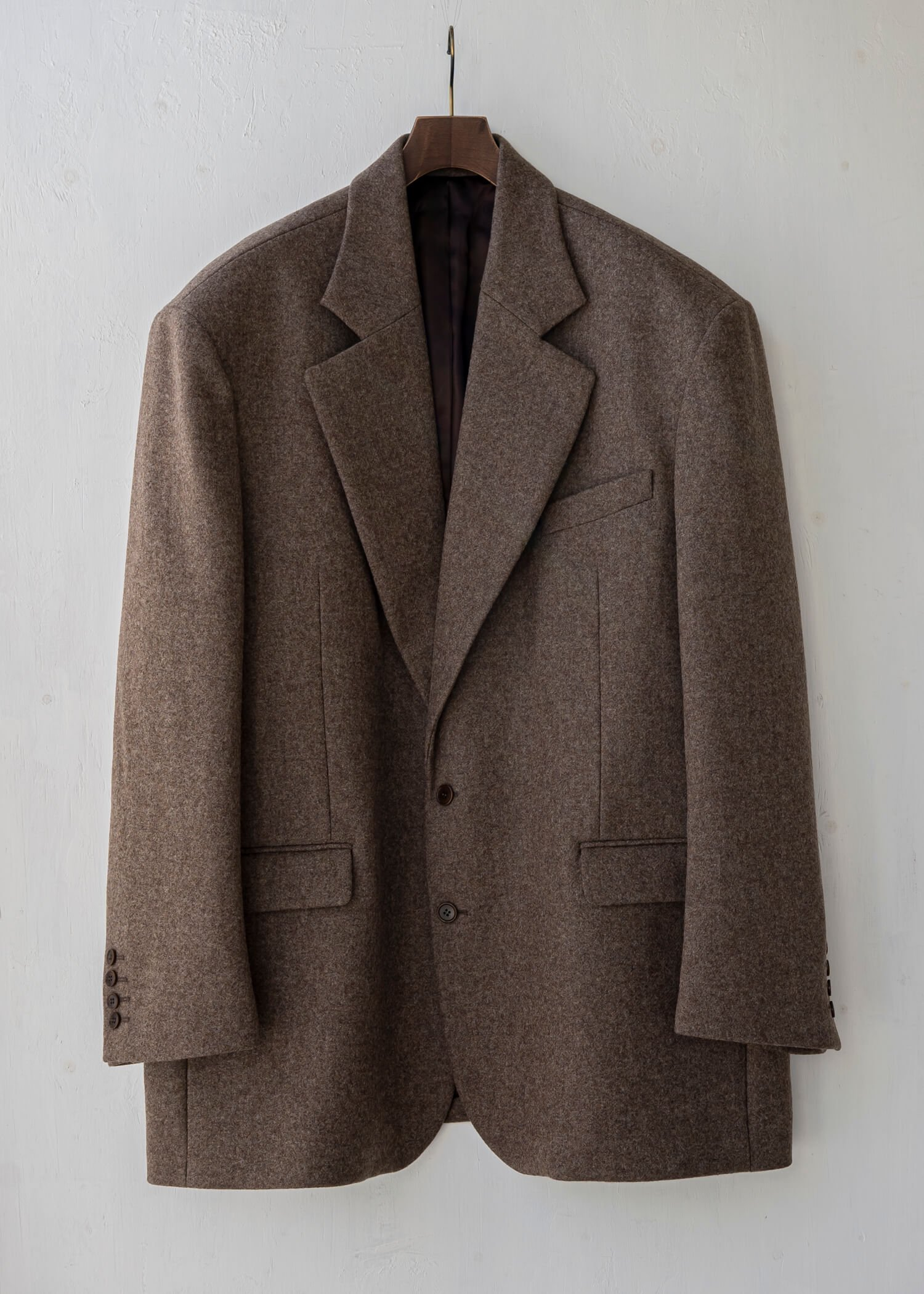 HED MAYNER / SINGLE BREASTED COAT