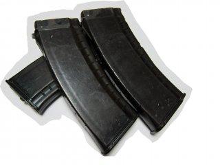 NPO AEG AK74 実物組み込みマガジン プラム 120連(イズマッシュ▲)