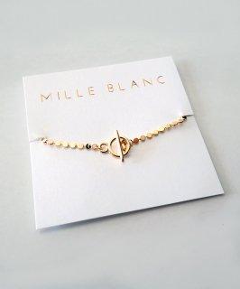 mille blanc◇Chain Bracelet